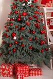 Decoração festiva do Natal Imagens de Stock Royalty Free
