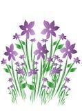 Decoração floral ilustração stock