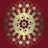 Decoração floral abstrata Fotografia de Stock Royalty Free