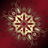 Decoração floral abstrata Imagem de Stock