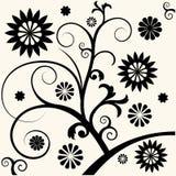 Decoração floral barroca Imagens de Stock