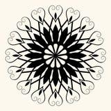 Decoração floral barroca Fotos de Stock
