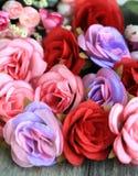 Decoração floral colorida Fotografia de Stock Royalty Free