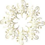 Decoração floral da ilustração do vetor Fotos de Stock Royalty Free