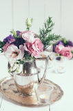 Decoração floral elegante Fotos de Stock Royalty Free