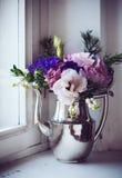 Decoração floral home Imagem de Stock