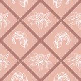 Decoração gráfica com elementos florais 1 Fotos de Stock Royalty Free