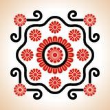 Decoração húngara dos motriz do bordado Imagens de Stock Royalty Free