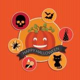 Decoração a Halloween Foto de Stock Royalty Free
