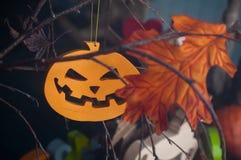 Decoração a Halloween Fotografia de Stock Royalty Free