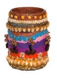 Decoração Handmade do vaso Imagem de Stock