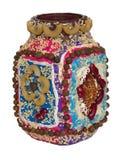 Decoração Handmade do vaso Imagens de Stock Royalty Free