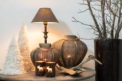 Decoração home do inverno Imagens de Stock Royalty Free
