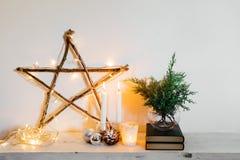 Decoração home do Natal imagem de stock royalty free