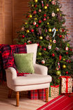 Decoração home do Natal Imagem de Stock