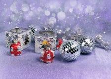Decoração home do Natal Imagens de Stock