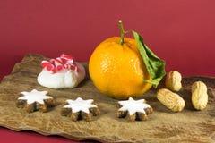 Decoração home do Natal da vida sazonal ainda Imagem de Stock Royalty Free