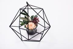 Decoração home moderna geométrica fotos de stock royalty free