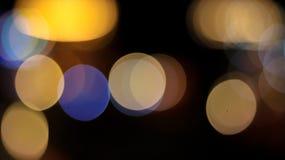 A decoração ilumina Bokeh imagens de stock
