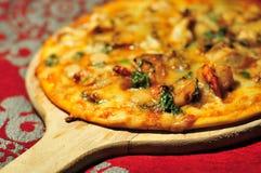 Decoração italiana do alimento foto de stock
