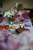 Decoração lilás Fotos de Stock Royalty Free