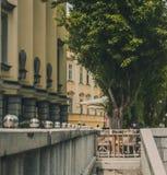 Decoração Ljubljiana da rua imagem de stock