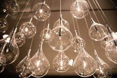 Decoração luxuosa bonita do interior da lâmpada da iluminação Fotografia de Stock