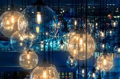Decoração luxuosa da iluminação fotografia de stock