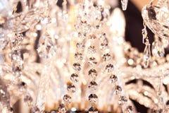 Decoração luxuosa da iluminação interior fotografia de stock royalty free