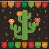 Decoração mexicana Imagem de Stock Royalty Free