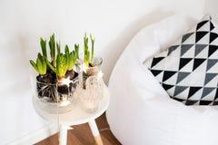Decoração minimalista da sala fotos de stock royalty free