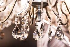 Decoração moderna da iluminação interior imagens de stock royalty free
