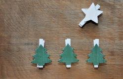 Decoração natural do Natal Imagem de Stock