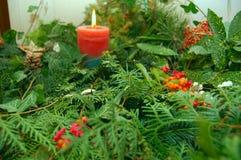 Decoração orgânica do Natal Foto de Stock Royalty Free