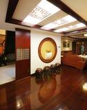 Decoração original e casa confortável Fotografia de Stock