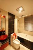 Decoração original e casa confortável foto de stock