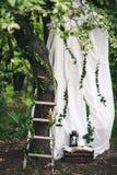 Decoração para o casamento Fotografia de Stock Royalty Free