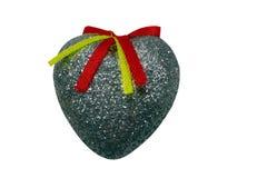 Decoração para o coração do Natal Imagens de Stock Royalty Free