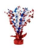 Decoração patriótica americana Foto de Stock Royalty Free