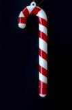 Decoração plástica do Natal do bastão de doces Imagem de Stock