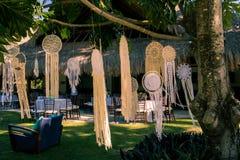 Decoração por um dia do casamento especial Fotografia de Stock Royalty Free