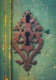 Decoração rústica do buraco da fechadura do vintage imagens de stock royalty free