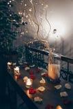 Decoração romântica fotografia de stock