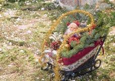 Decoração Santa Claus do Natal Fotos de Stock