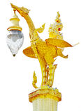 Decoração tailandesa da lanterna da cisne do estilo Imagem de Stock