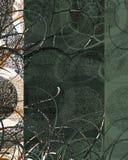 Decoração Textured do redemoinho imagens de stock