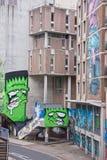 Decoração urbana Fotografia de Stock
