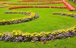 Decoração urbana da flor imagem de stock