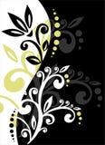 Decoração Vegetative ilustração royalty free