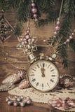 A decoração velha de ano novo Imagem de Stock Royalty Free